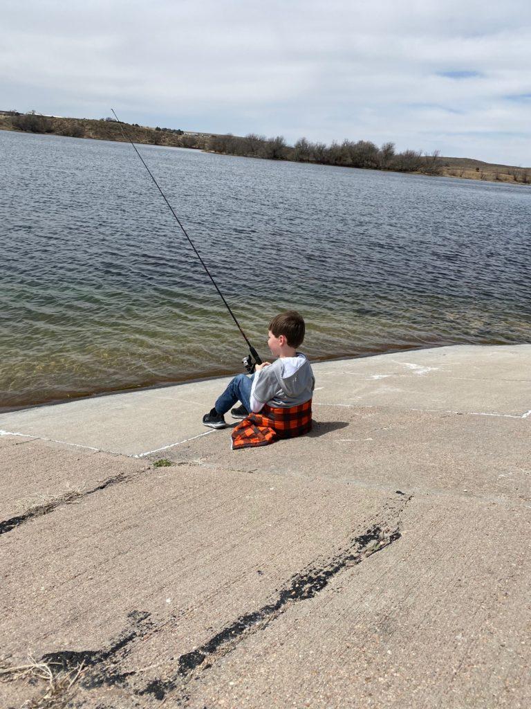 Thatch fishing