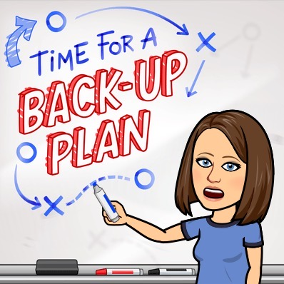 back up plan graphic