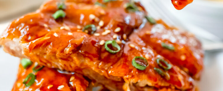 Easy Instant Pot Asian BBQ Sticky Ribs Recipe