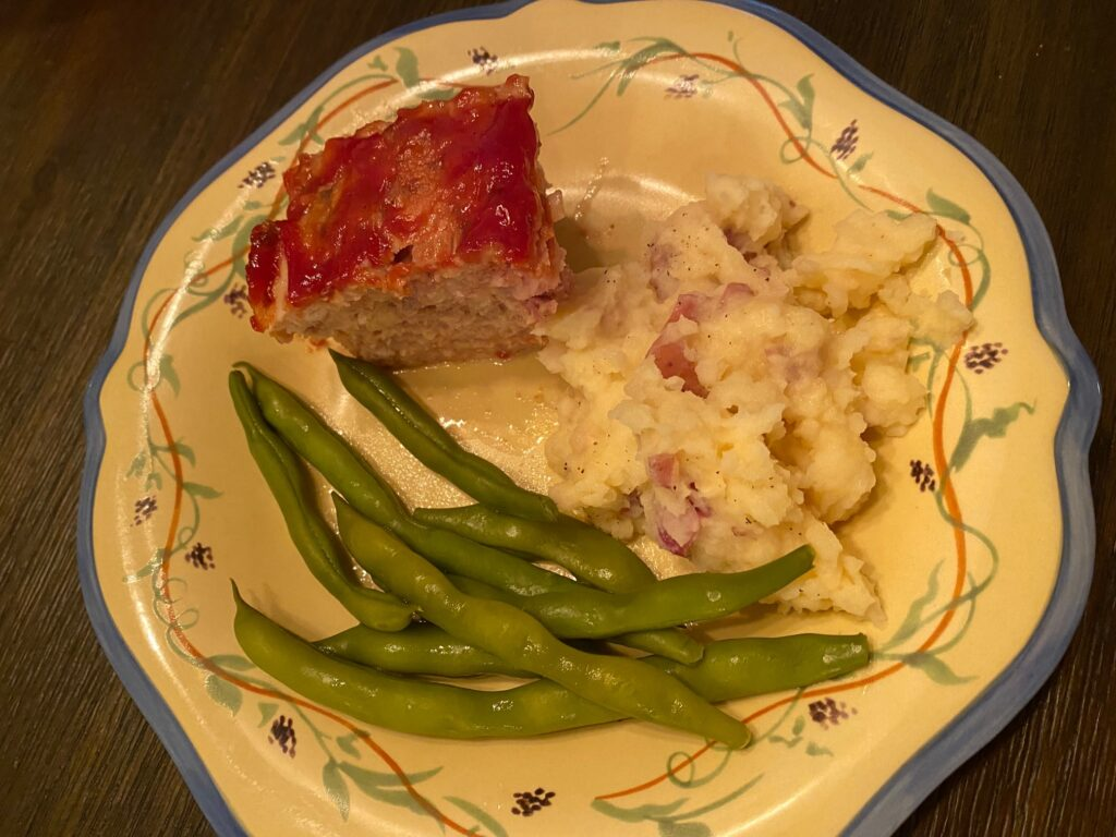 meatloaf with sides